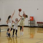 Girls Junior Varsity Basketball falls in the TCU Bi-County JV Girls Tourney Consolation Game 35 – 16