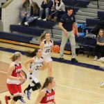 Girls Varsity Basketball falls to John Glenn 61 – 48