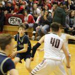 Boys Junior Varsity Basketball falls to John Glenn 38 – 26