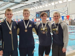Boys Swimming @ NIC Championships 2/1/20  (Photo Gallery)