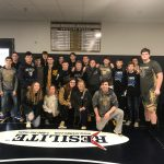 Boys Varsity Wrestling finishes 4th place at IHSAA Wrestling Sectional