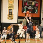 Herald-Argus article:  New Prairie jumps out to early 33-point lead, spoils Westville's Senior Night