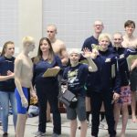 South Bend Tribune article:  Penn swimming leads from start to finish at sectionals