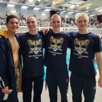 Boys 200 Medley Relay team headed to IHSAA State Swimming meet!