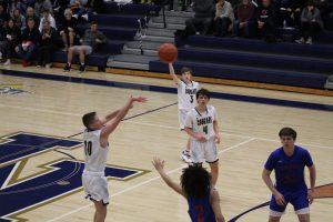 Boys JV Basketball vs. South Bend Adams  2/29/20  (Photo Gallery)