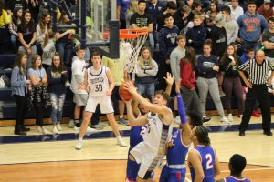 Boys Varsity Basketball vs. South Bend Adams  2/28/20  (Photo Gallery)