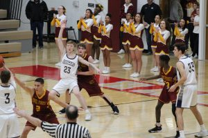 Boys Varsity Basketball @ IHSAA Sectional Semi-Final vs. River Forest  3/6/20  (Photo Gallery)
