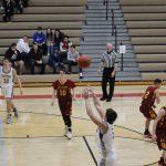 Boys Varsity Basketball beats River Forest in IHSAA Boys Basketball Sectional @ Hanover Central  57 – 35