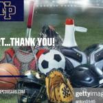 REMINDER:  Dear Sport…THANK YOU!