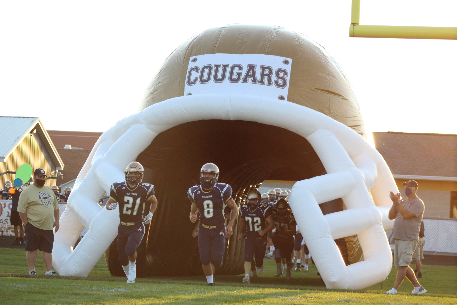 Varsity Football vs. La Porte 8/22/20. ( Photo Gallery 1 of 4)