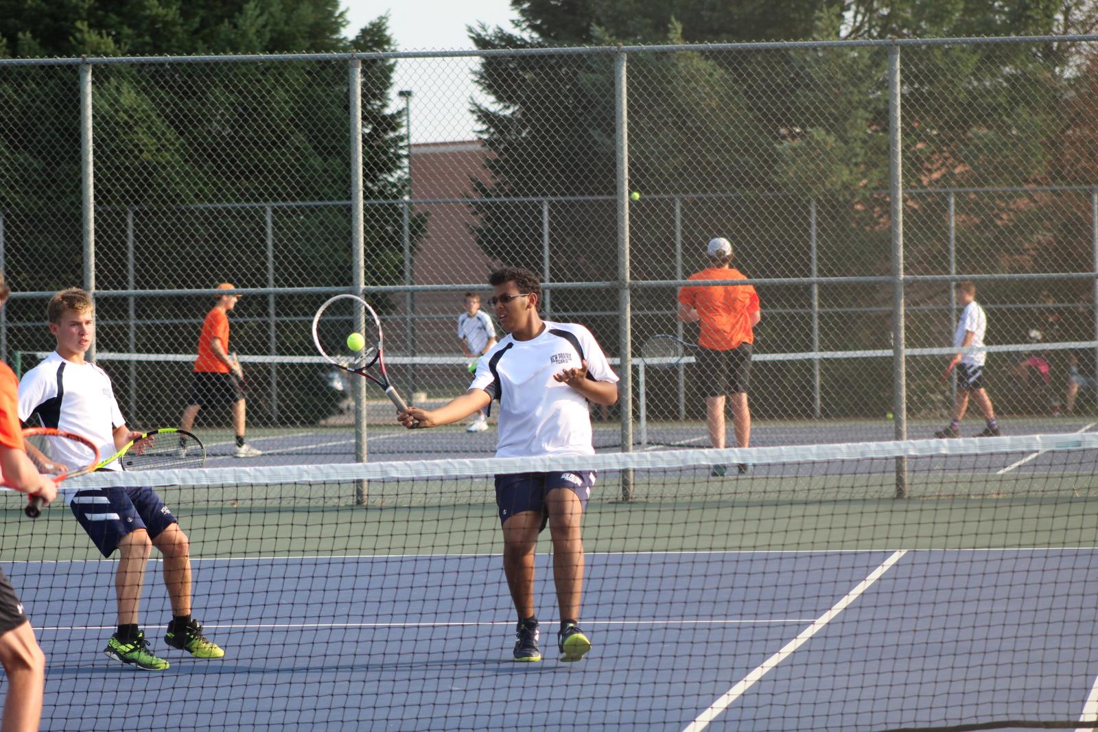 Boys Tennis vs. La Porte 8-26-20  (Photo Gallery)