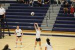 Girls Junior Varsity Volleyball beats John Glenn 2 – 0