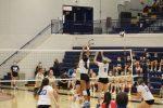 Girls Varsity Volleyball beats John Glenn 3 – 0