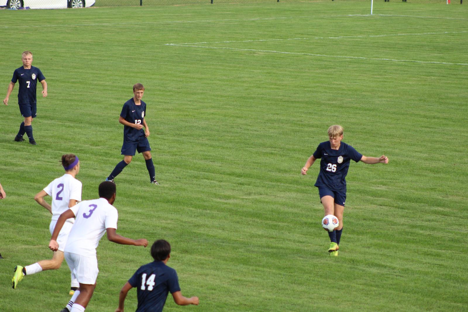 Boys Soccer vs. South Bend Clay  9/2/20  (Photo Gallery)