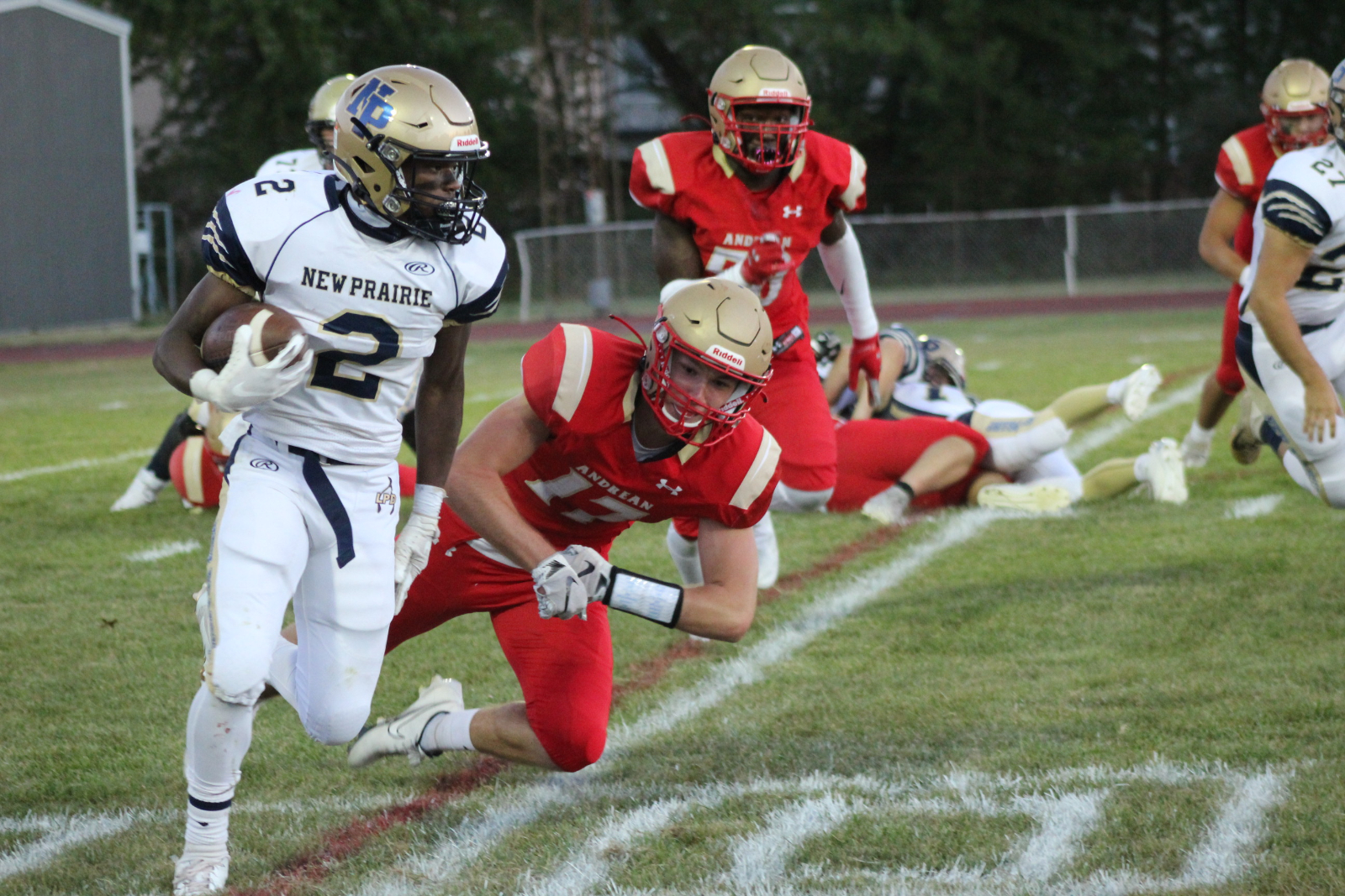 Varsity Football @ Andrean 9/4/2020  (Photo Gallery)