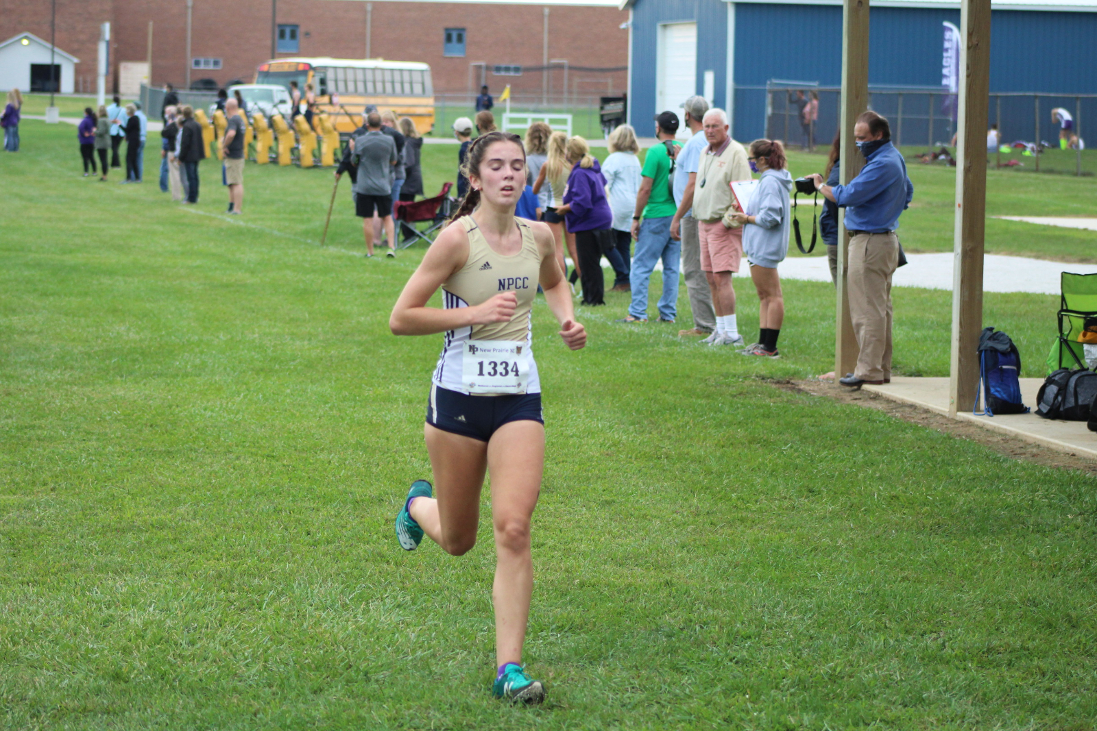 Girls Cross Country @ New Prairie Cougar Kickoff Classic 9/8/20 (Photo Gallery 2 of 2)