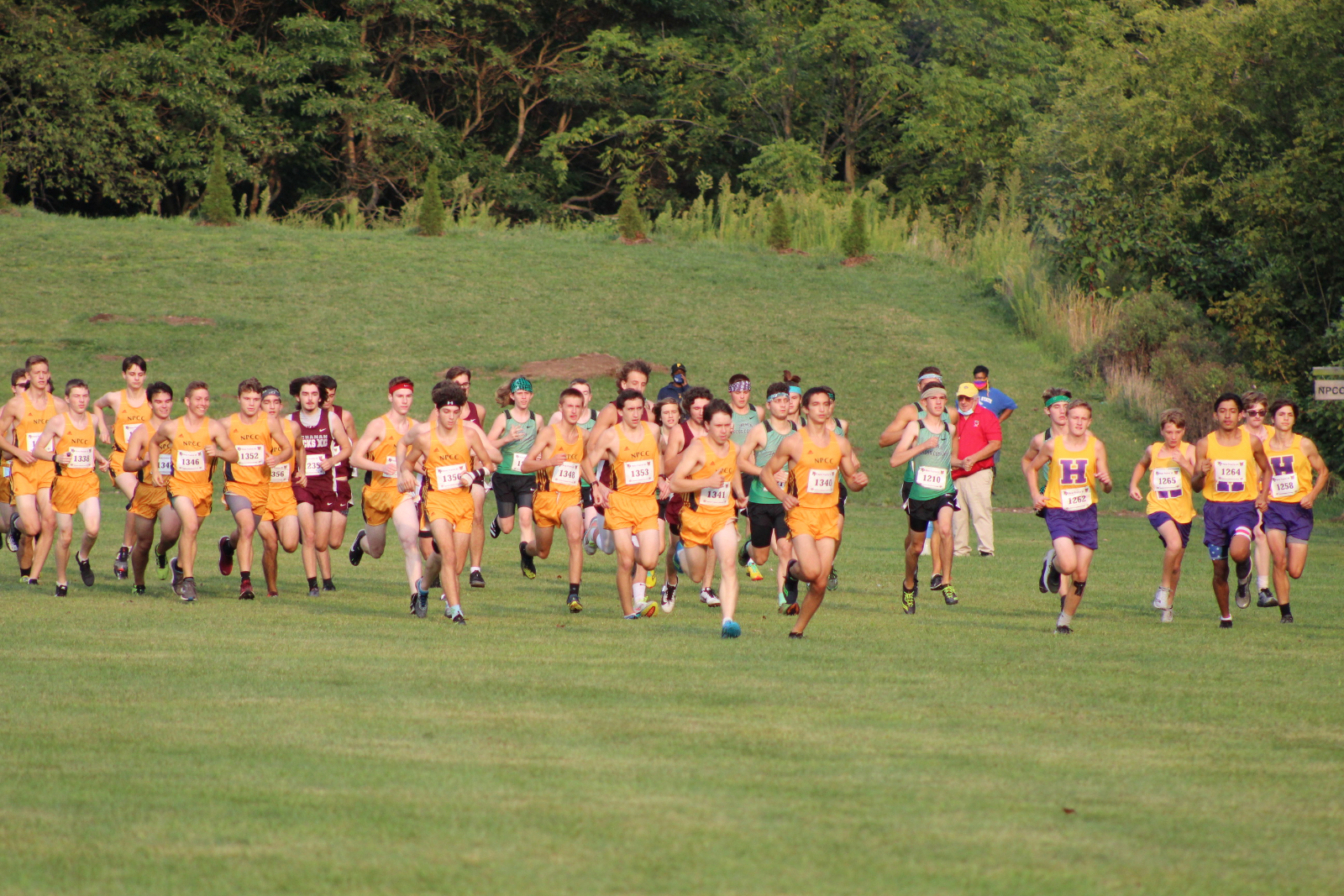 Boys Cross Country @ New Prairie Cougar Kickoff Classic 9/8/20 (Photo Gallery 1 of 3)