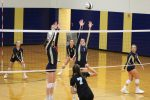Girls Freshman Volleyball beats Mishawaka Marian 2 – 0
