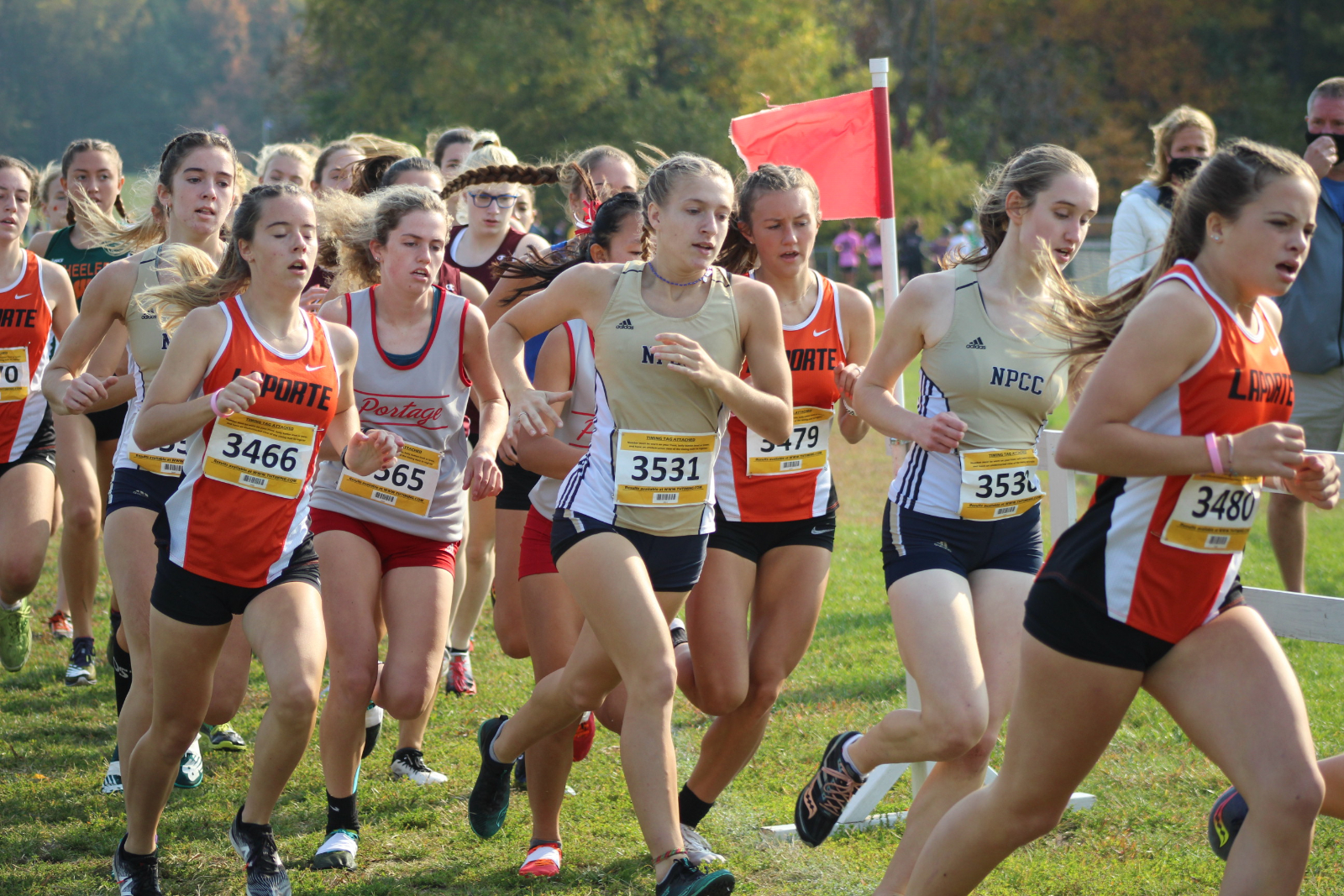 Cross Country @ IHSAA Sectional 10/10/20  (Photo Gallery 2)