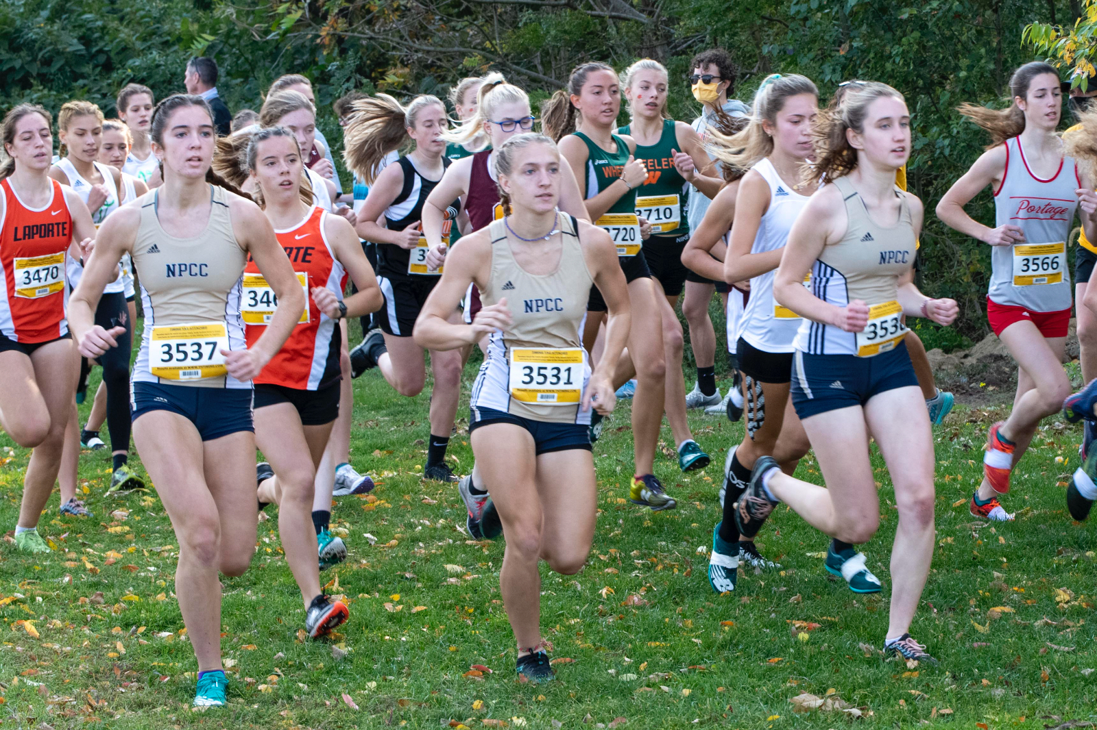 Cross Country @ IHSAA Sectional 3 10/10/20 (Photo Gallery 4)