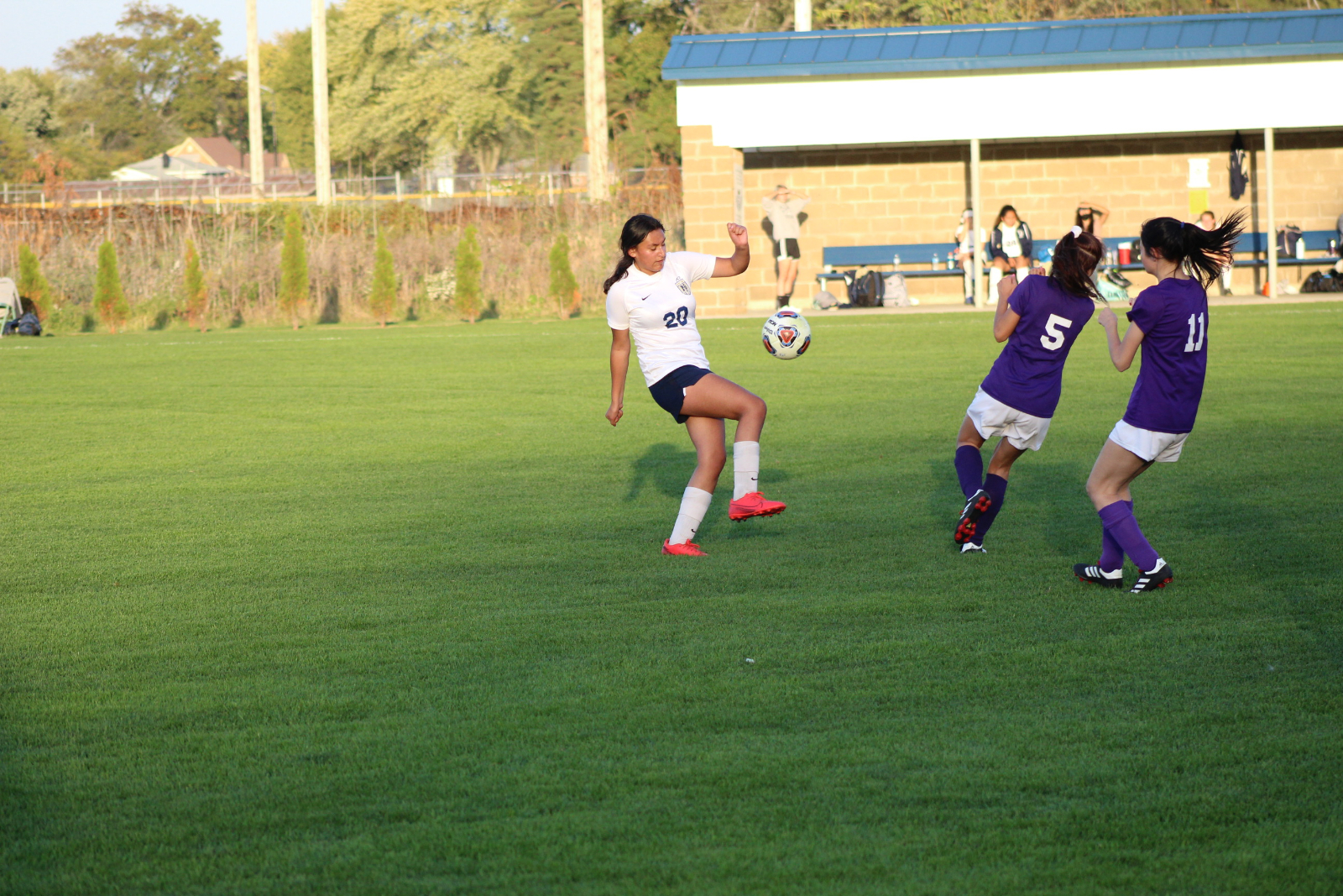Girls Soccer @ IHSAA Sectional vs. South Bend Clay 10/8/20  (Photo Gallery)