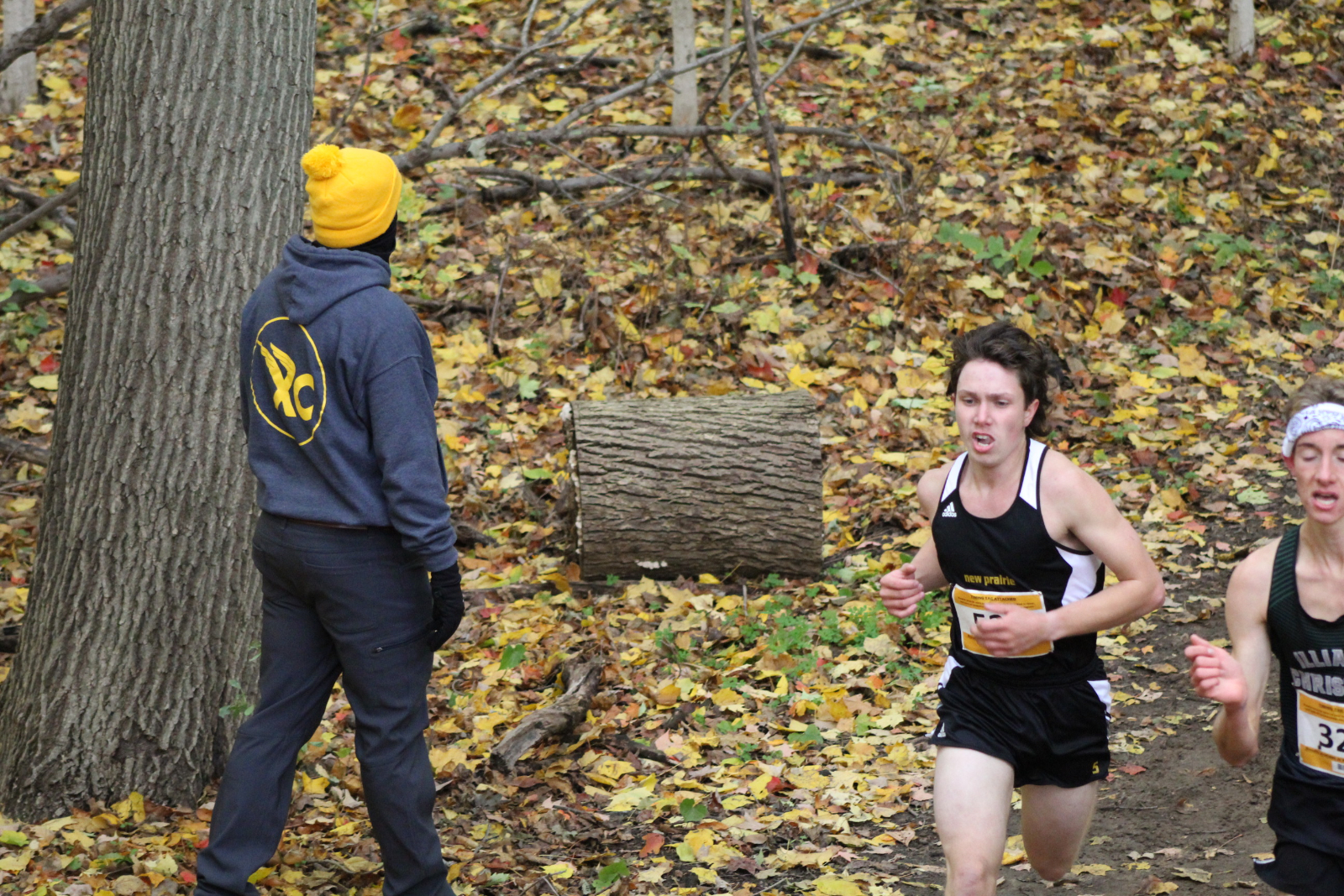Baltes Qualifies for State, New Prairie Boys Cross Country Team 14th at Semi-State