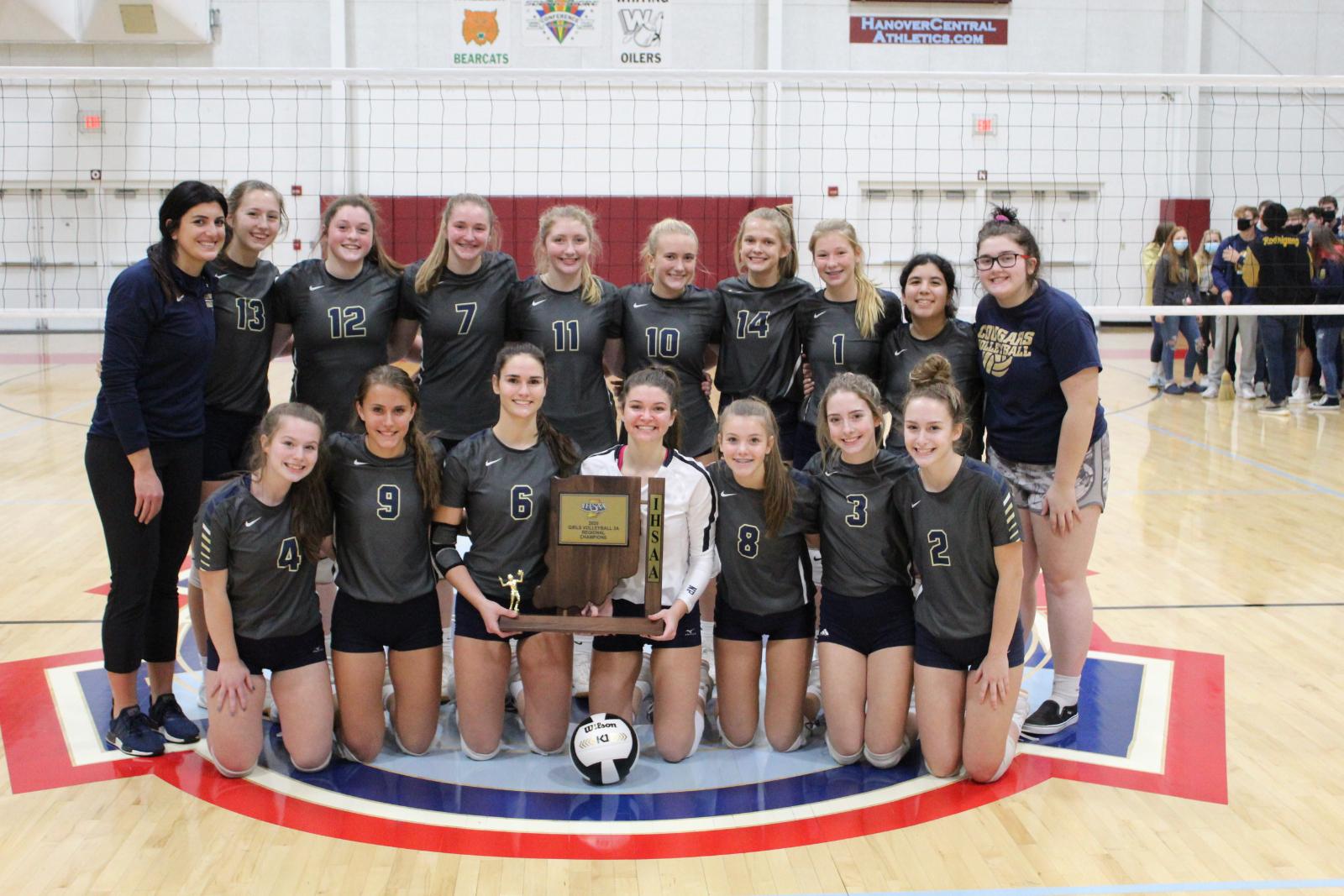 Varsity Volleyball @ IHSAA Regional vs. Benton Central  10/24/20  (Photo Gallery)
