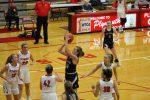 Girls Varsity Basketball Battles Hard in Tough Loss at Plymouth