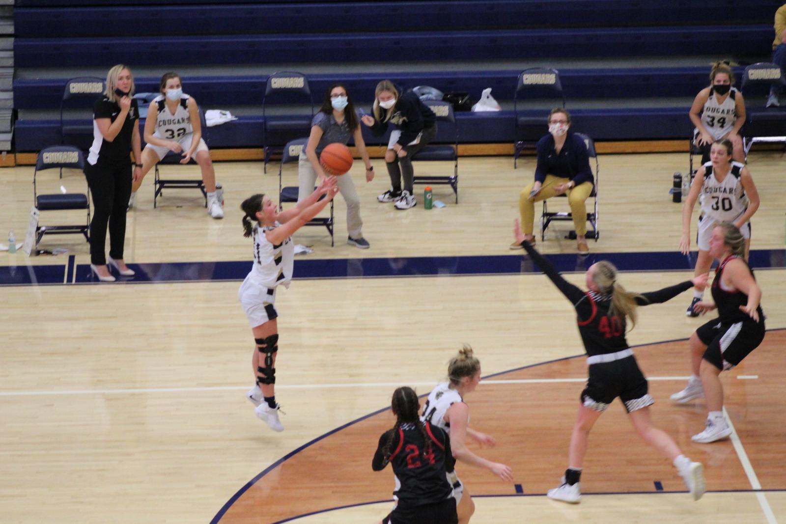 Varsity Girls Basketball vs. South Central  11/14/20  (Photo Gallery)
