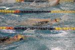 Girls Varsity Swimming beats LaPorte 96 – 86