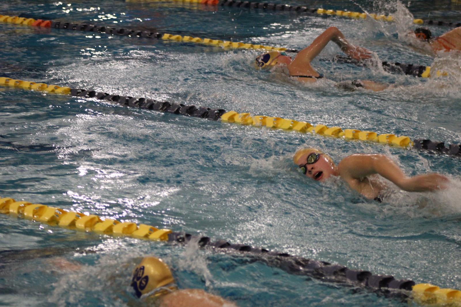 B/G Swim & Dive vs. La Porte  11/28/20  (Photo Gallery 2 of 2)