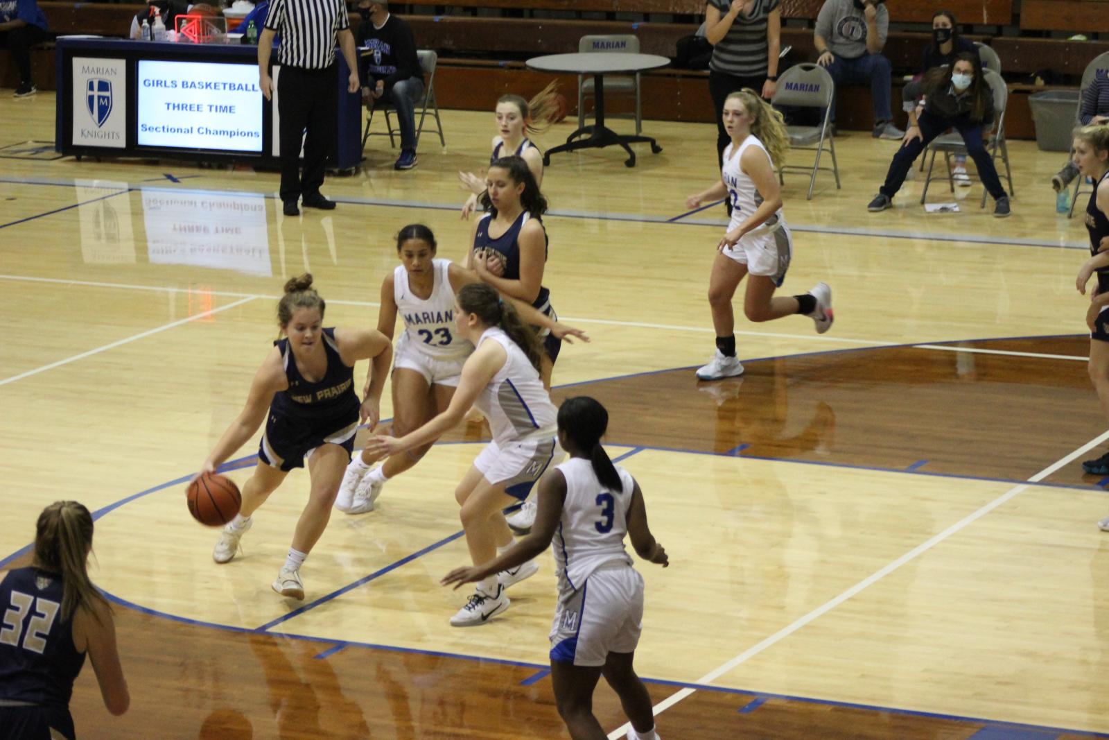 Girls Varsity Basketball @ Mishawaka Marian 12/1/20  (Photo Gallery)