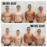 Boys Varsity Swimming beats Marian 132 – 46