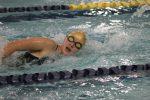 Girls Varsity Swimming beats Michigan City 105 – 76