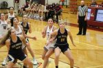 Girls Varsity Basketball wins on the road against Jimtown 49-40