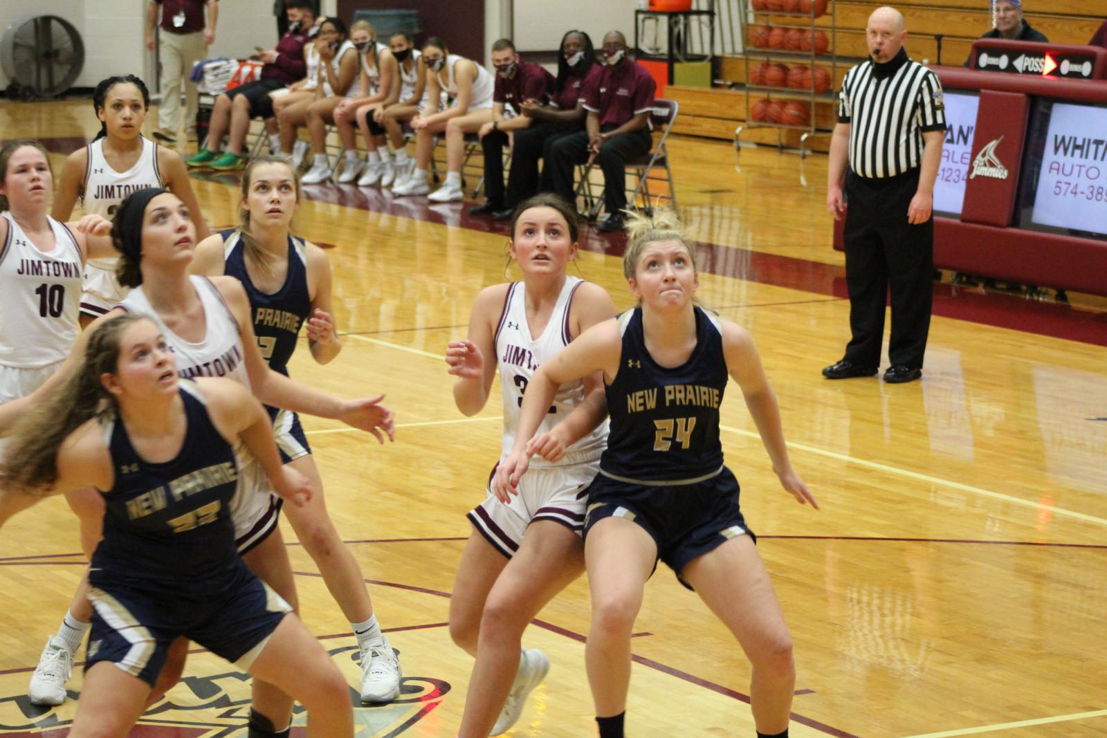 Girls Varsity Basketball @ Jimtown 12/17/20  (Photo Gallery)