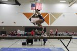 Girls Varsity Gymnastics Team competes at first dual meet of season