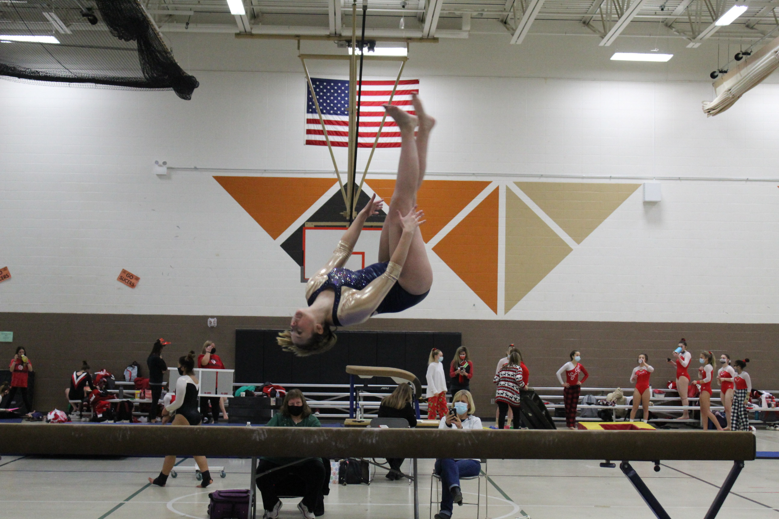 Gymnastics @ LaPorte Pairs  12/19/20  (Photo Gallery 2 of 2)