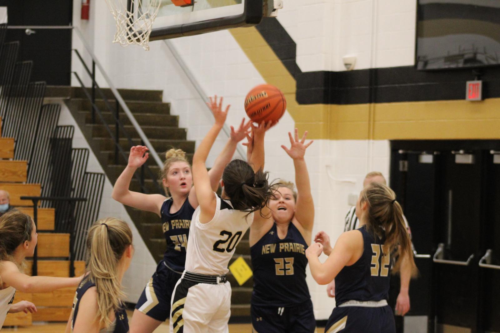 Girls Varsity Basketball @ Argos  12/22/20  (Photo Gallery)