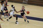 Girls Varsity Basketball falls to Penn 55 – 13