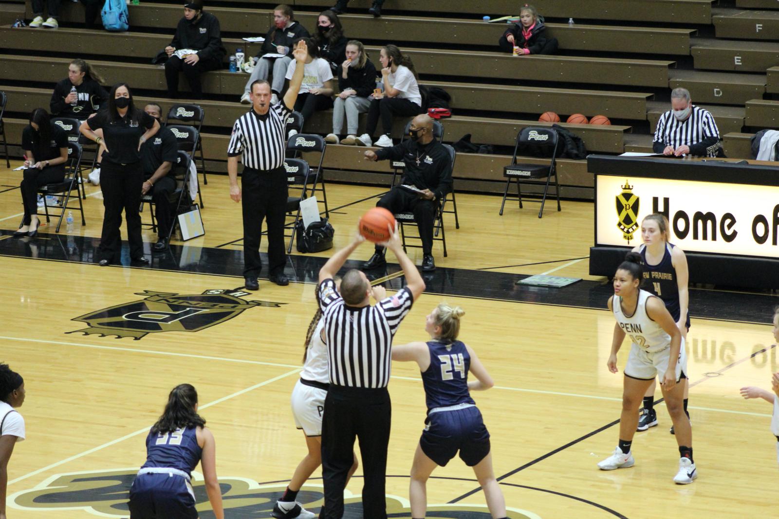 Girls Varsity Basketball vs. Penn 1/5/2021 (Photo Gallery)