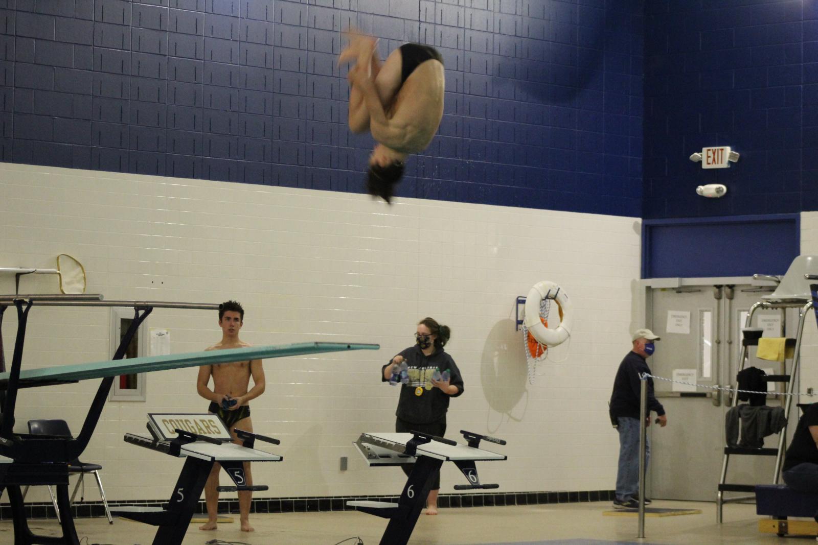 Swimming & Diving vs. Jimtown 1/5/21 (Photo Gallery)