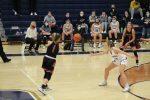 Girls Varsity Basketball falls to John Glenn 45 – 35