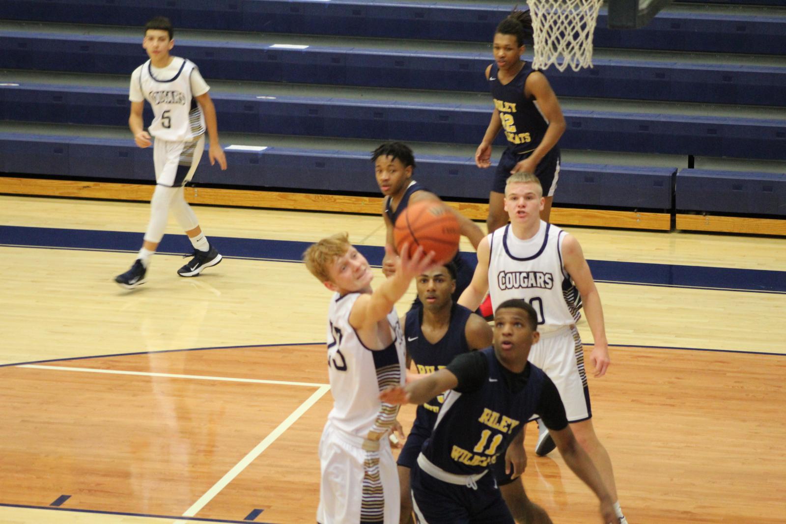 Boys JV Basketball vs. South Bend Riley 1/15/21  (Photo Gallery)