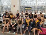 Girls Varsity Swimming finishes 6th place at Girls NIC Meet