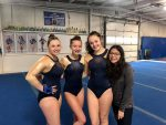 Girls Varsity Gymnastics finishes 3rd place at Elkhart East/West Invite