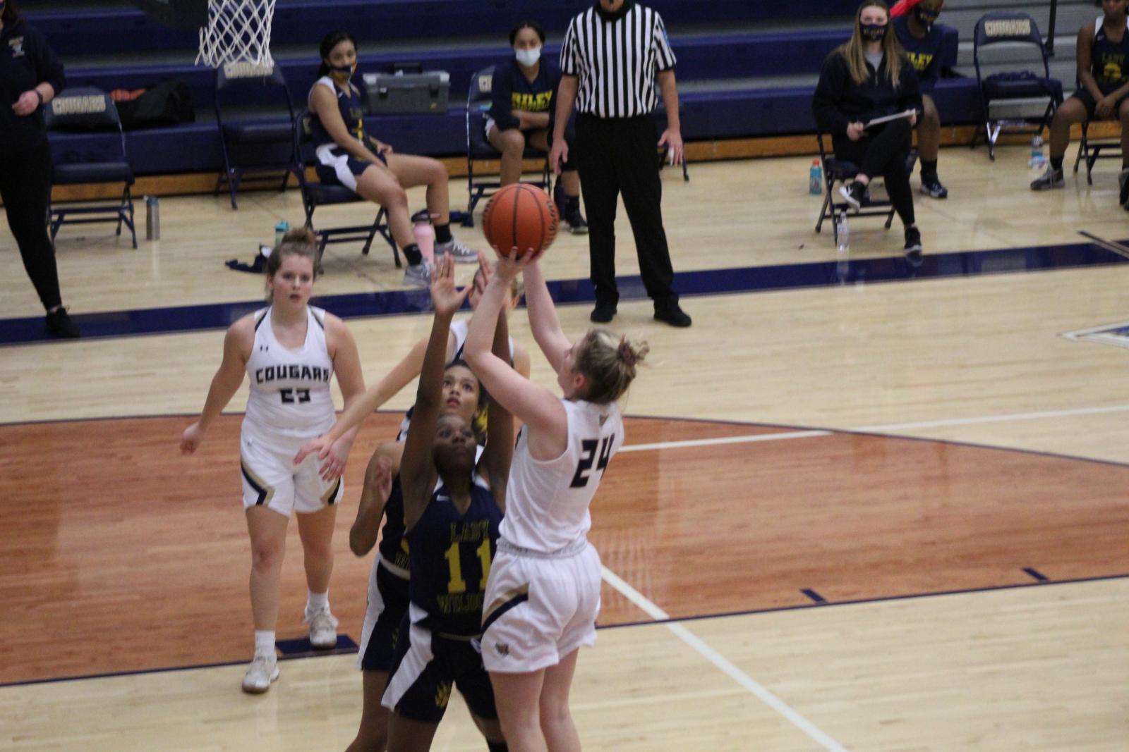 Girls Varsity Basketball vs. SB Riley 1/28/21  (Photo Gallery)