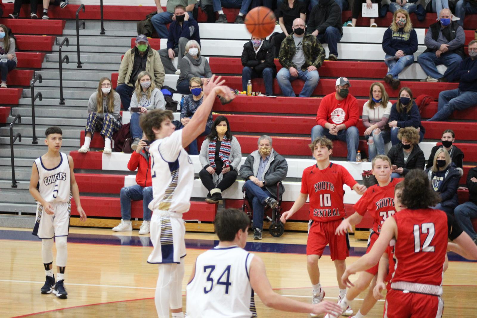 Boys JV Basketball @ South Central 1/30/21 (Photo Gallery)
