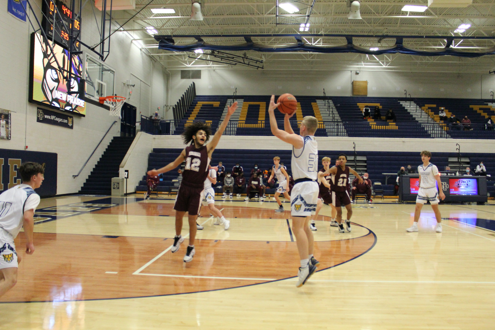Boys JV Basketball vs. Mishawaka 2/13/21 (Photo Gallery)