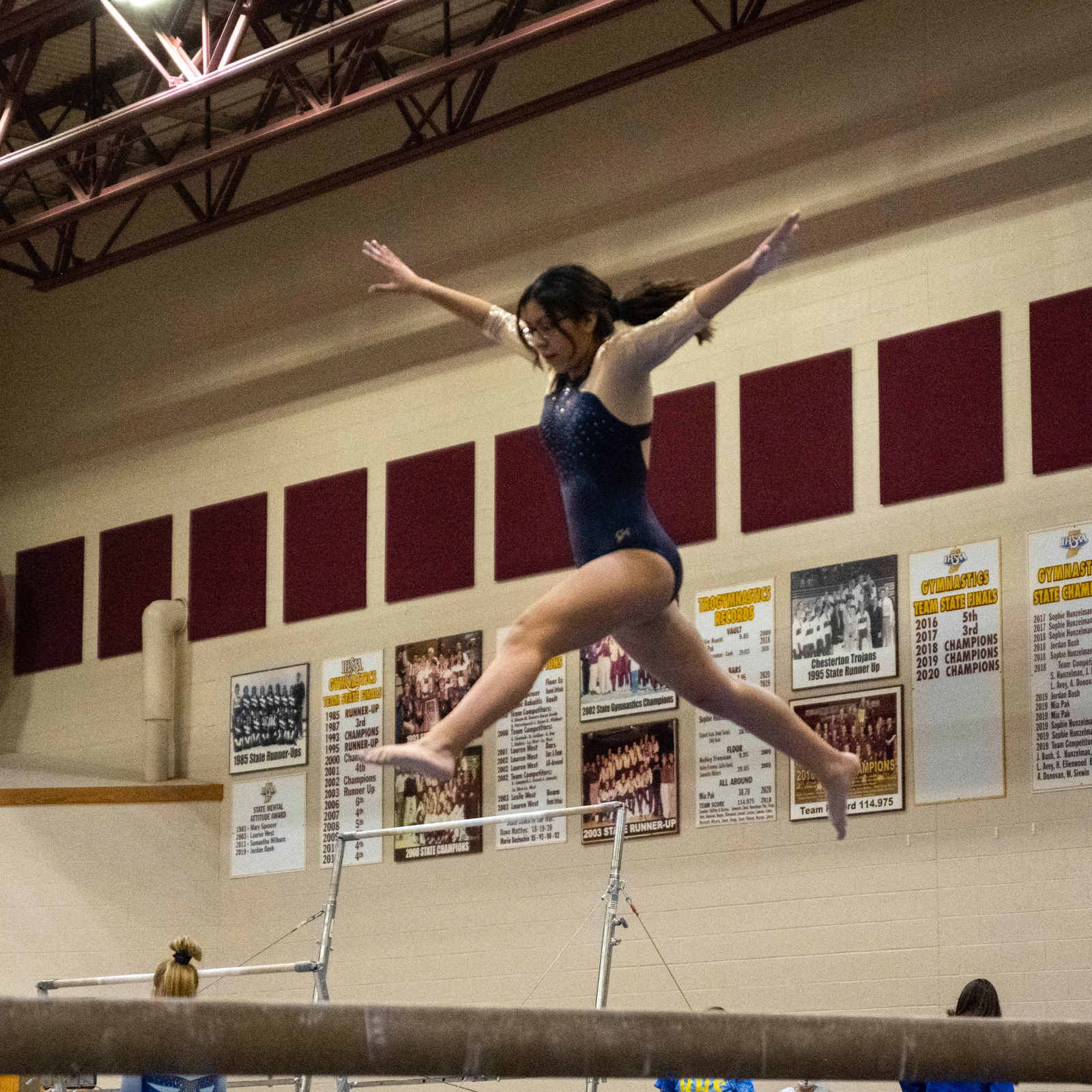 Gymnastics @ Chesterton Invite 1/30/21  (Photo Gallery)